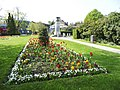 Flowerbed near the War Memorial, Chase Green, Enfield - geograph.org.uk - 1263137.jpg