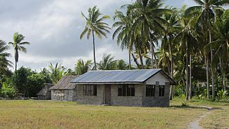 Abaiang - Abaiang airport building
