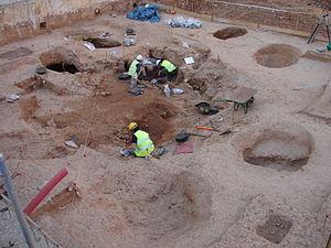 Resultat d'imatges de neolitic barcelona raval excavacions