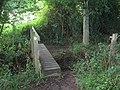 Footbridge in Point Wood (2) - geograph.org.uk - 1399487.jpg