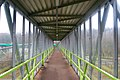 Footbridge interior at Michaelwood services, M5 - geograph.org.uk - 1700631.jpg