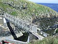 Footbridge to Strumble Head Lighthouse - geograph.org.uk - 1965361.jpg