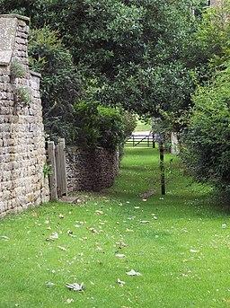 Footpath near Terrington Church - geograph.org.uk - 494904