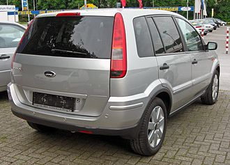 Ford Fusion (Europe) - Image: Ford Fusion + 20090514 rear