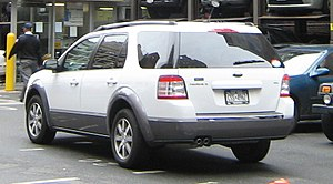 Ford Taurus X - 2008–09 Ford Taurus X