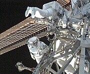 Foreman Satcher EVA1 STS129