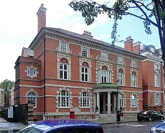 Gibbs surround - Image: Former public library, Manresa Road