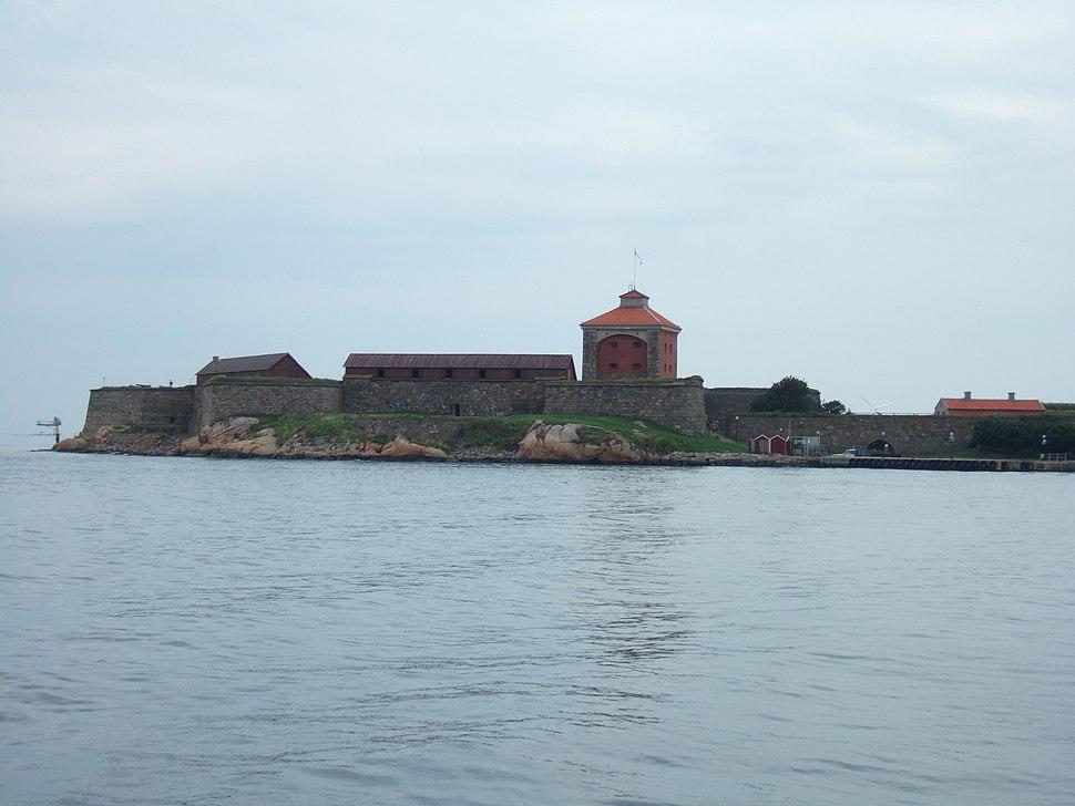 Fortress Älvsborg outside Gothenburg Sweden