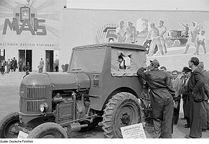 Agricultural machinery industry - Agricultural exhibitions, 1951