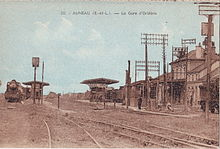 Gare d 39 auneau wikimonde for Auneau paris