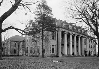 Athens, Alabama - Founders Hall, Athens State University. (WPA photo 1930s).
