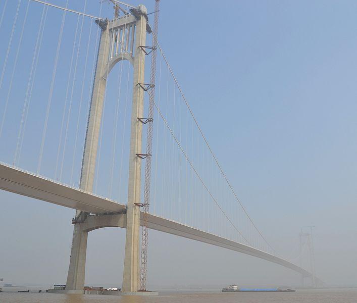 File:Fourth Nanjing Yangtze Bridge.JPG