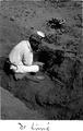 Från utgrävningarna vid Thomas Palmas hus. Dr Sigvald Linné - SMVK - 0307.a.0040.tif