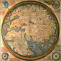 Fra Mauro map, Venice, 1459.