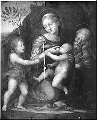Holy Family with Saint John