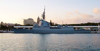 Spanish frigate <i>Blas de Lezo</i> (F103)