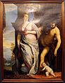 François boucher (da veronese), allegoria di sapienza e forza (ercole ed onfale), 1750 ca. (orig. del 1576-84) 01.JPG