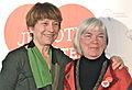 Françoise David et Monique Voisine 2014-03-09.jpg