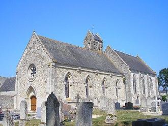 Canchy, Calvados - The church in Canchy