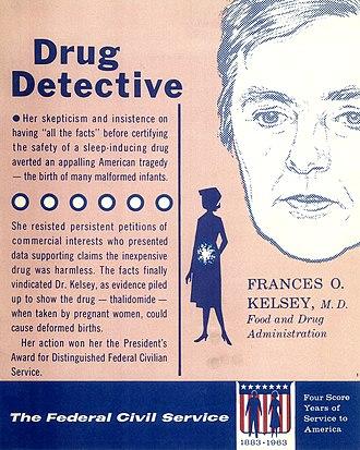 """Frances Oldham Kelsey - The """"Drug Detective"""""""