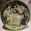 Francesco xanto avelli, piatto con sepoltura di cristo, urbino, 1536.JPG