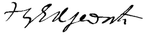 Francis Ysidro Edgeworth - Image: Francis Edgeworth signature