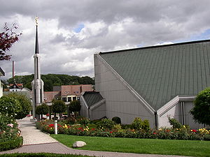 Temple (LDS Church) - The Frankfurt Germany Temple