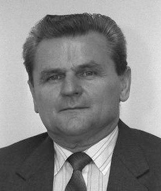 1992 Czech legislative election - Image: František Trnka