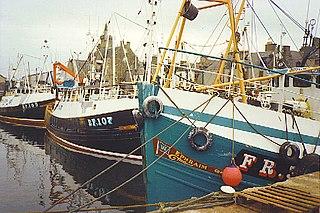 Fishing industry in Scotland