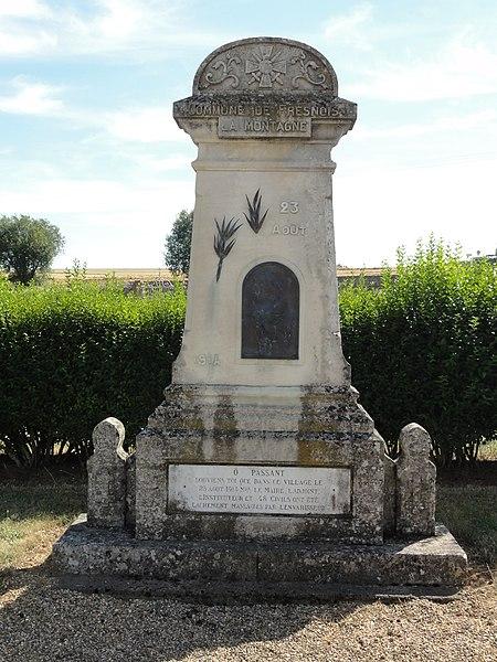 Fresnois-la-Montagne (Meurthe-et-M.) mémorial 23 août 1914