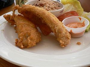 Karaage - Image: Fried perch
