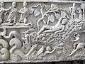 Fronte del sarcofago di giona, 280-300 dc., da necropoli vaticana 04.JPG