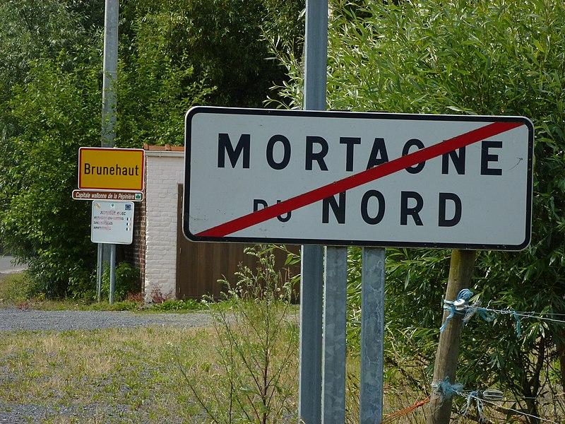 Frontière Franco-Belge Mortagne-du-Nord - Brunehaut
