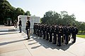 Full honors Army wreath laying at the Tomb of the Unknown Soldier in Arlington National Cemetery to honor the 72nd anniversary of the Liberation of Guam and the battle for the Northern Mariana Islands (28140741886).jpg