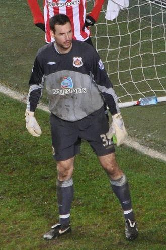 Márton Fülöp - Fülöp playing for Sunderland in 2010