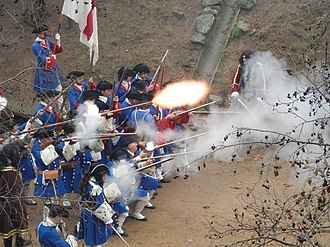 Arbúcies - Reenactment of the battle of Arbúcies, portrayed by the reenactment groups Miquelets de Catalunya and Miquelets de Girona.