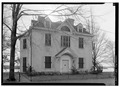 GENERAL VIEW, FRONT ELEVATION - Lenox-Keene House, 710 Radcliffe Street, Bristol, Bucks County, PA HABS PA,9-BRIST,1-1.tif