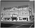 GENERAL VIEW OF EAST FACADE LOOKING SOUTHWEST - Ventnor Twin Theater, 5211 Ventnor Avenue, Ventnor City, Atlantic County, NJ HABS NJ,1-VECI,2-1.tif