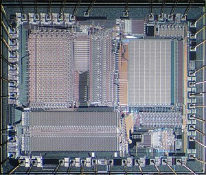 Texas Instruments TMS320 - Die of the General Instrument DSP32010