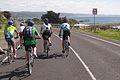 GVBR Riders Approaching Lorne, GOR, Vic, jjron, 04.12.2009.jpg