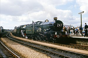GWR 7029 Clun Castle and 5051 Drysllwyn Castle on The Great Western Limited 150 (5).jpg