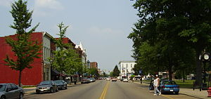 Gallipolis, Ohio - State Route 7 downtown