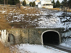 Tunnelhill, Pennsylvania - Gallitzin Tunnels