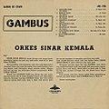 Gambus, 1960s album by Orkes Sinar Kemala (back).jpg