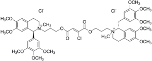 Gantacurium chloride - Image: Gantacurium chloride