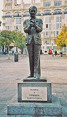 Monument to Federico García Lorca, Madrid