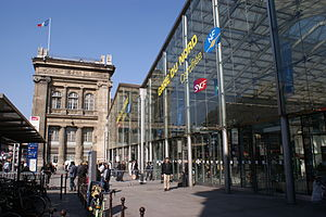 Gare du Nord - Main entrance