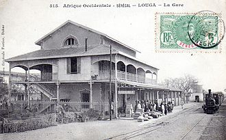 Louga Department - Louga Railway Station