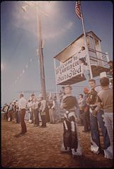 Garfield County Fair. Nighttime Rodeo for 4-H Club Boys, 09-1973 (3815034861).jpg