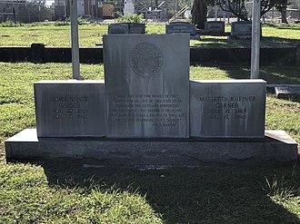 John Nance Garner - John Nance Garner burial site